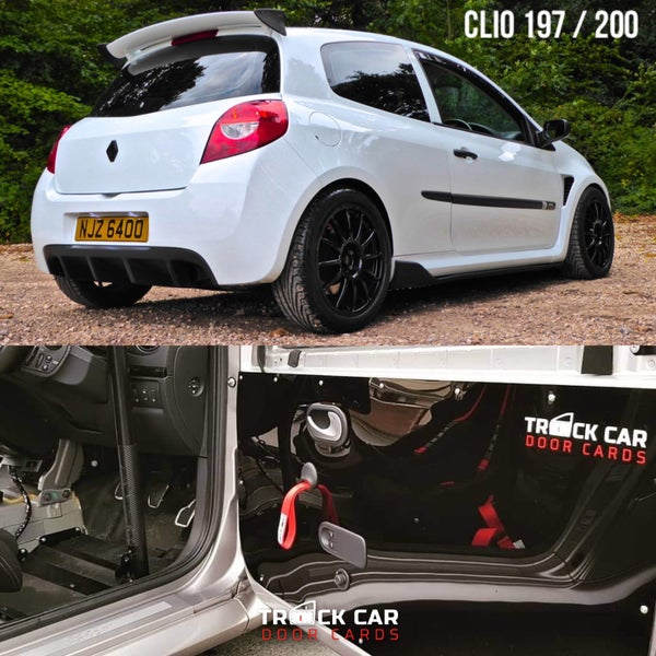 Image of Renault Clio 197/200 - Track Car Door Cards