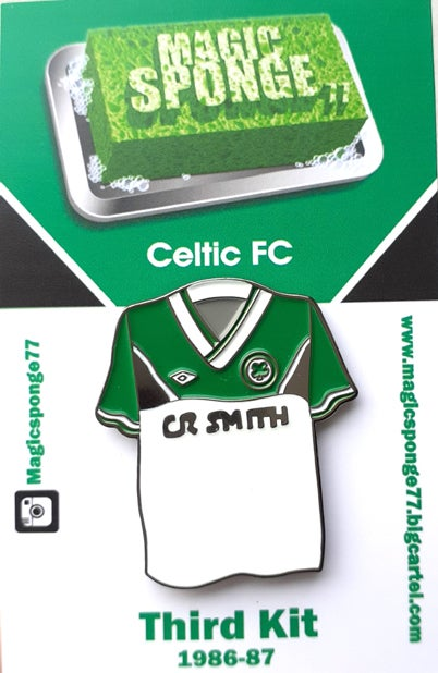 Image of Out Now Classic Celtic FC 3rd Kit 1986-87