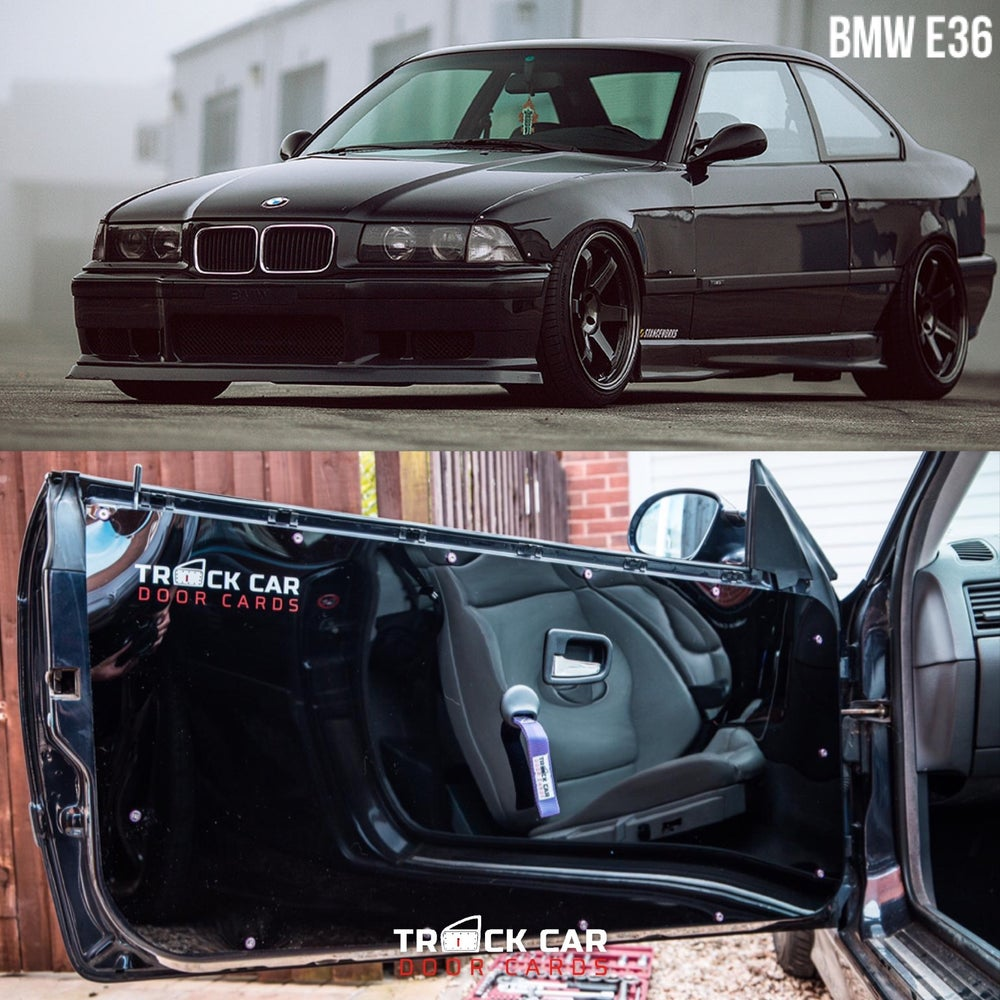 Image of BMW e36 Coupe Track Car Door Cards
