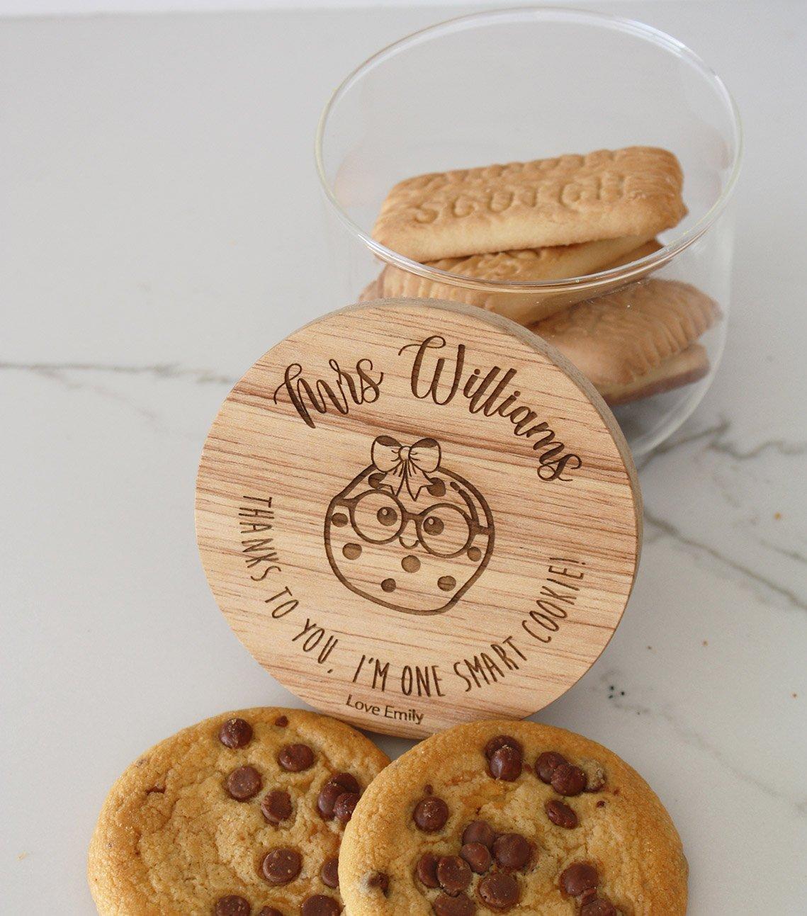 Image of Smart Cookie Jar - Scipt Font
