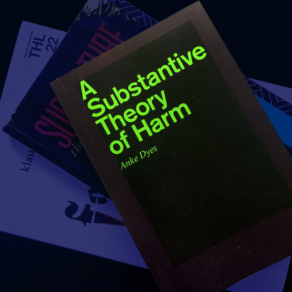"Image of Anke Dyes, ""A Substantive Theory of Harm"" (2018/19, Krtk n Krtk)"