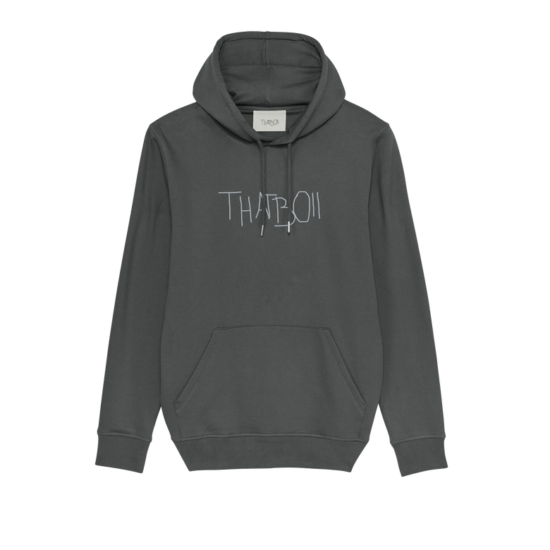 Image of thatboii blurred hoodie - anthracite