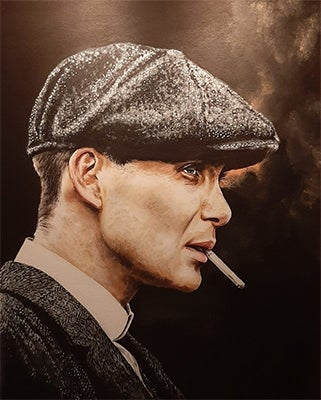 Image of Tommy Shelby Peaky Blinders