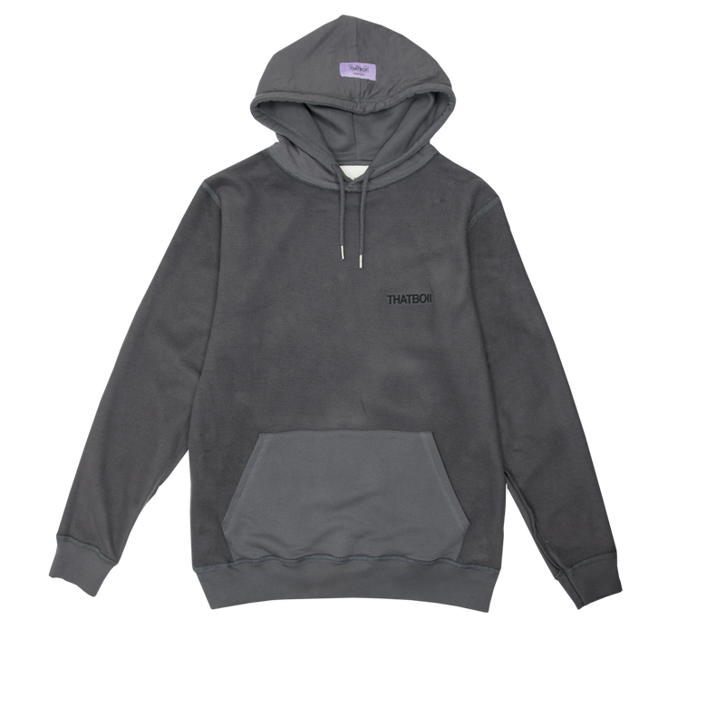 Image of thatboii blurred hoodie - reversed