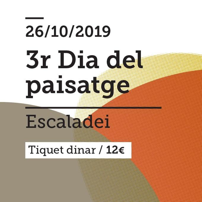 Image of TIQUET DINAR DIA DEL PAISATGE 2019