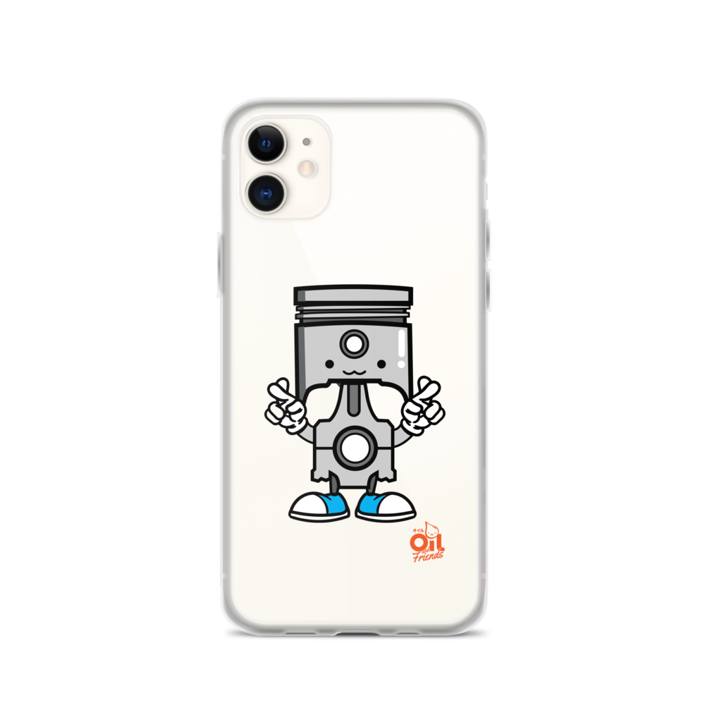 "Image of OIL AND FRIENDS ""PISTON"" iPhone Case"