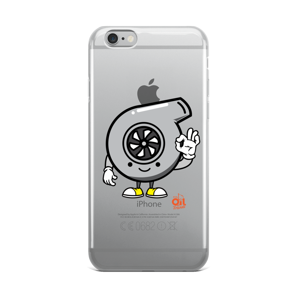 "Image of OIL AND FRIENDS ""TURBO"" iPhone Case"