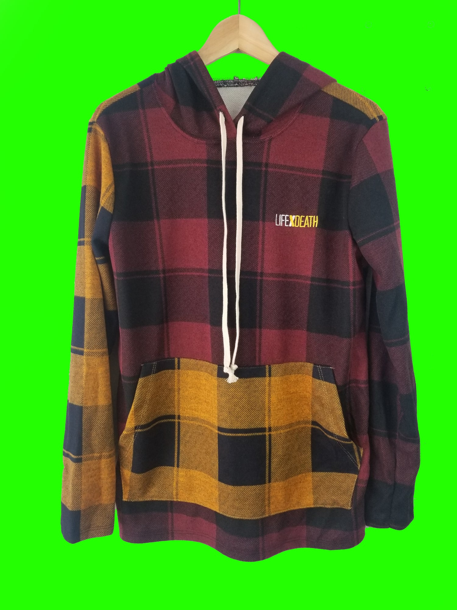 Image of FLANEL HOODIE 2 COLOR