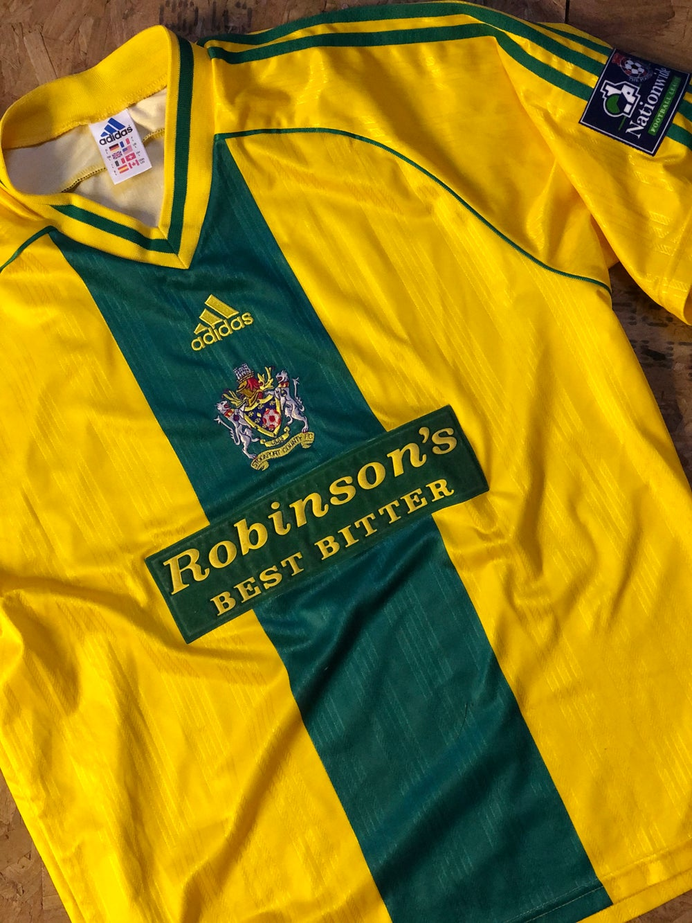 Image of Match Worn 1998/99 adidas Away Shirt