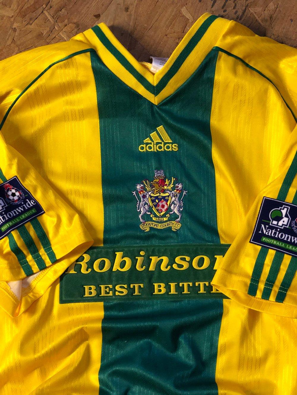 Match Worn 1998/99 adidas Away Shirt