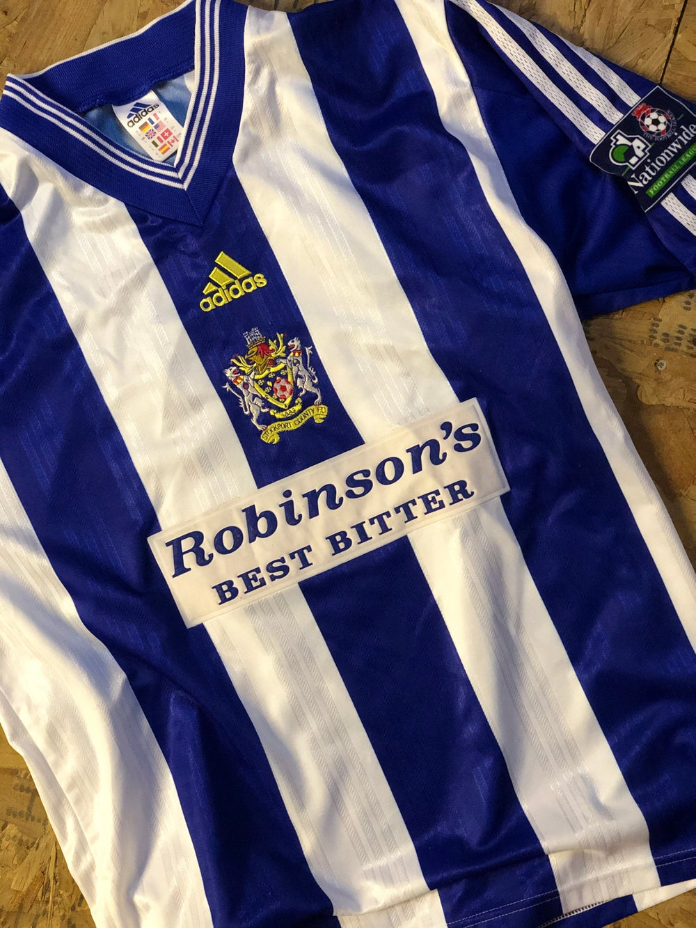 Image of Match Worn 1998/99 adidas Home Shirt