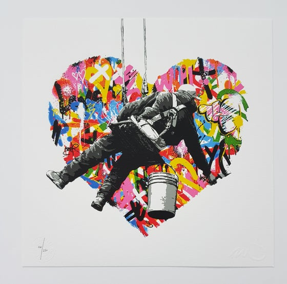 Image of MARTIN WHATSON - MAKE LOVE - 25CM X 25CM - LTD ED 250