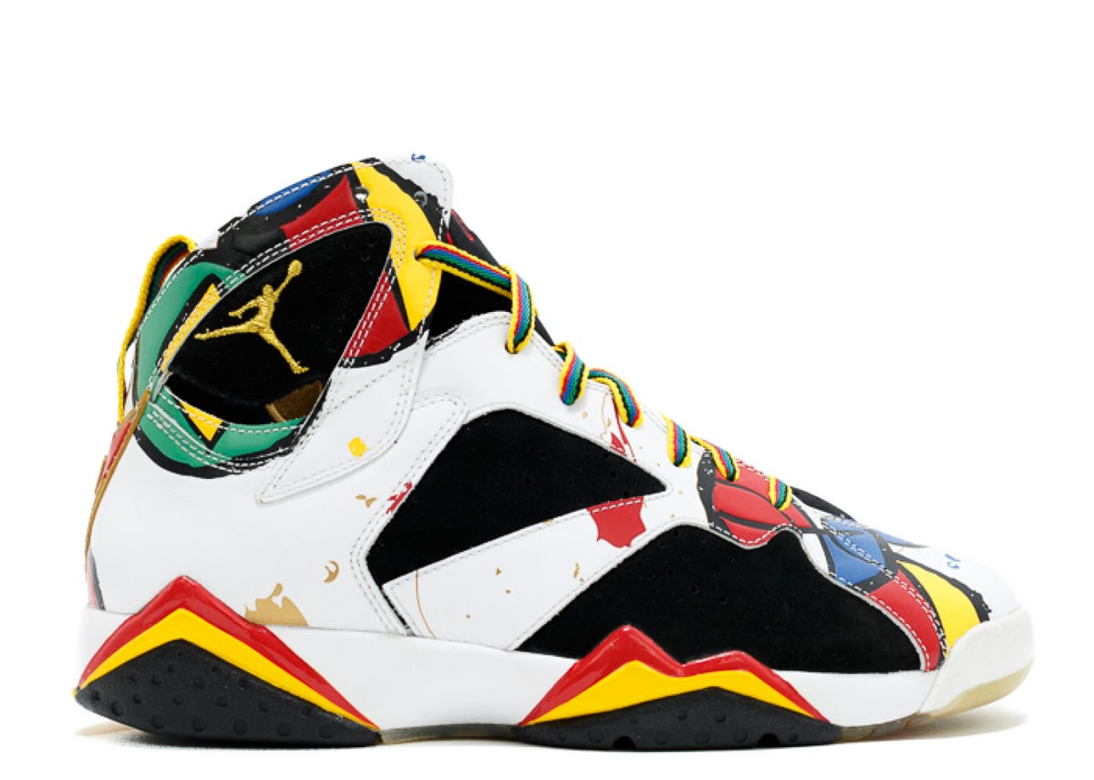 "Image of AIR JORDAN 7 RETRO OC ""MIRO OLYMPIC"""