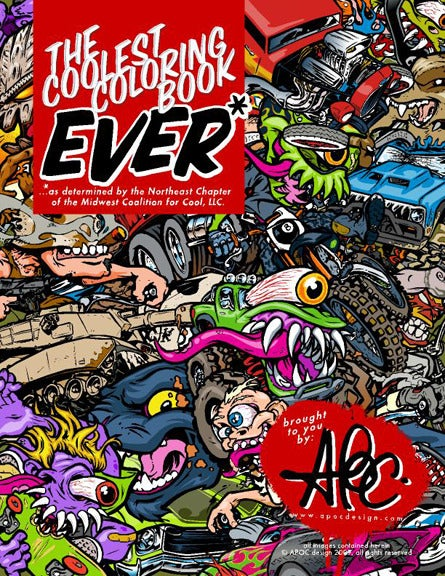 Coolest Coloring Book Ever*