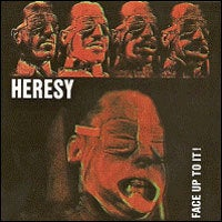 "Image of Heresy - Face Up To It! Coloured 12"" Vinyl LP (Bubble Gum Pink Vinyl)"