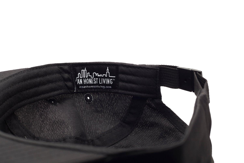 Image of AARN x AHL Black/Black 3M 5-Panel Ripstop Cap