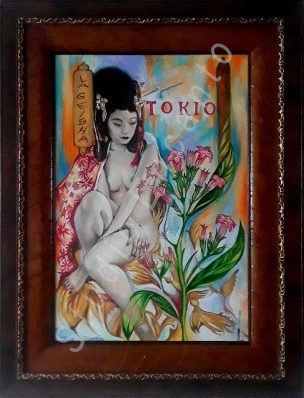 Image of La Geisha by Edin Gutierrez