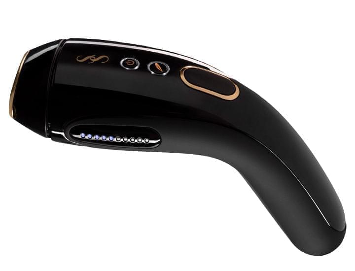 Image of SMOOTHSKIN GOLD Intense Pulsed Light (IPL) hair removal system.