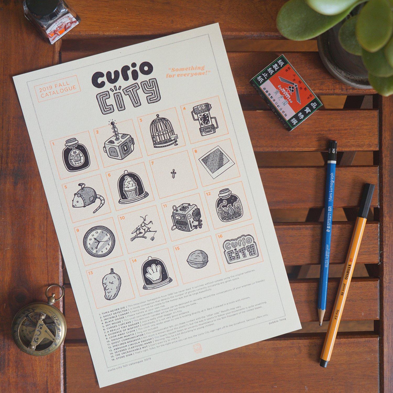 Image of CURIO CITY RISO PRINT