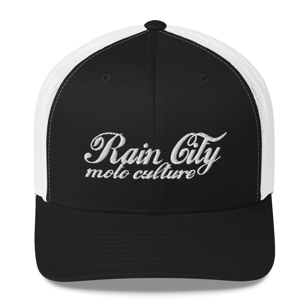 Image of Cursive Trucker Hat