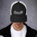 Image of Cursive Trucker Hat
