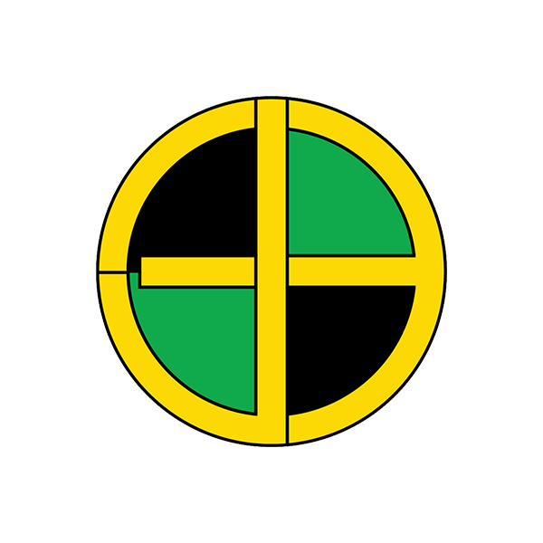 Image of Jamaican Bullseye Sticker