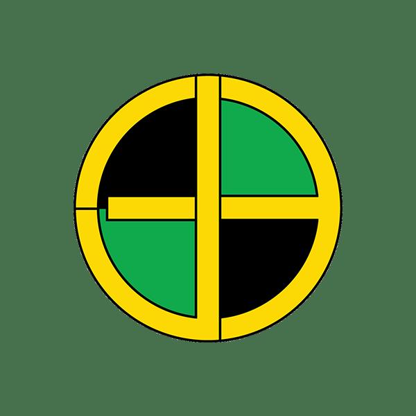 Image of Jamaican Bullseye Sticker