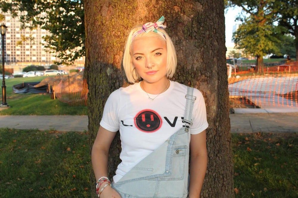 "Image of BT ""LOVE"" Tee (White)"