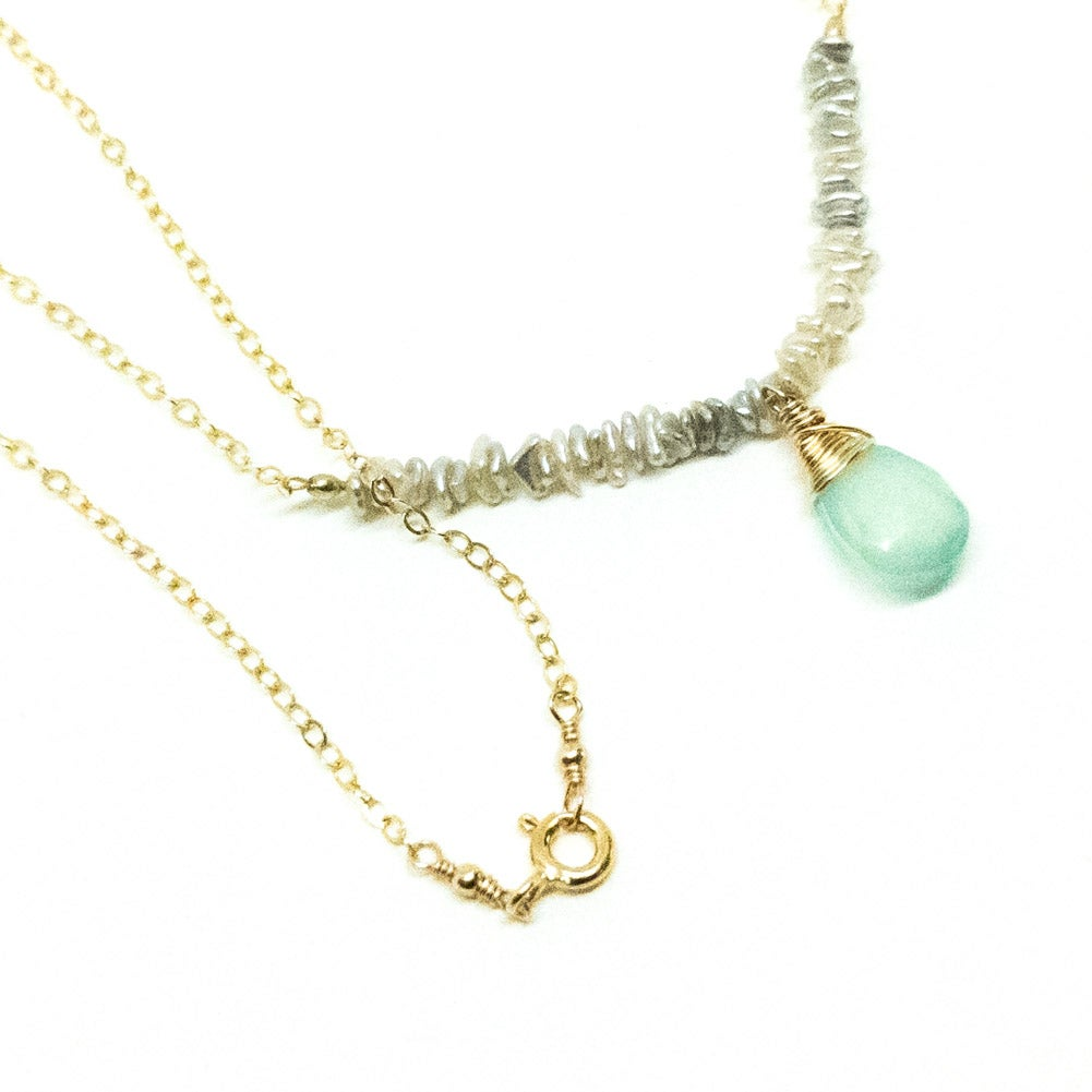 Image of Seafoam Serenity necklace