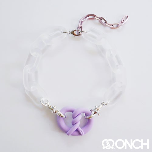 Image of Chunky chain ONCH Pretzel necklaces