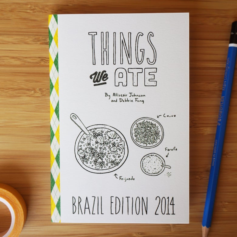 Image of THINGS WE ATE: BRAZIL 2014