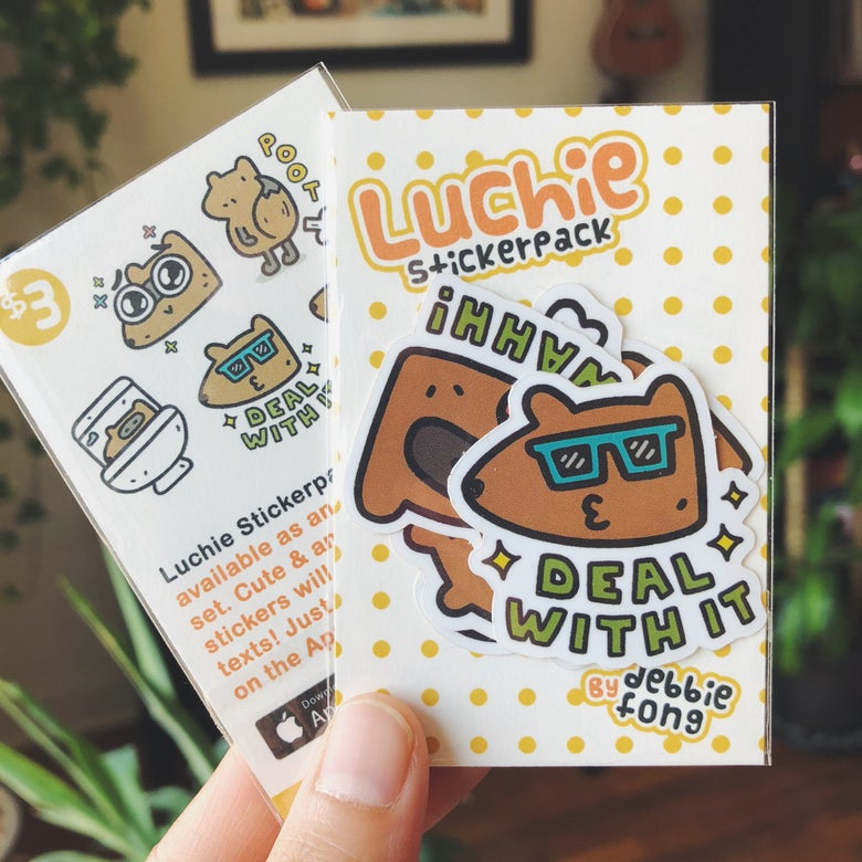 Image of LUCHIE STICKERS