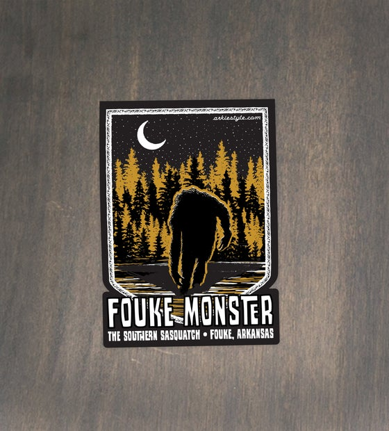 Image of Fouke Monster sticker