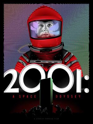 Image of 2001 foil reprint