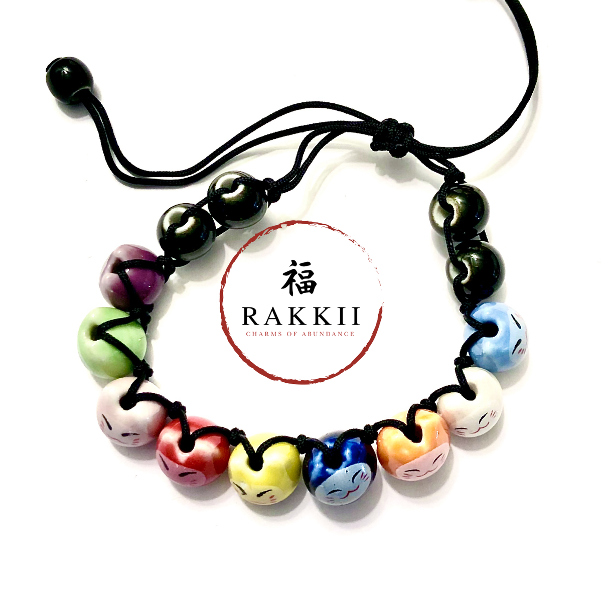 "Image of RAKKII ""String of Cats"" BRACELET"