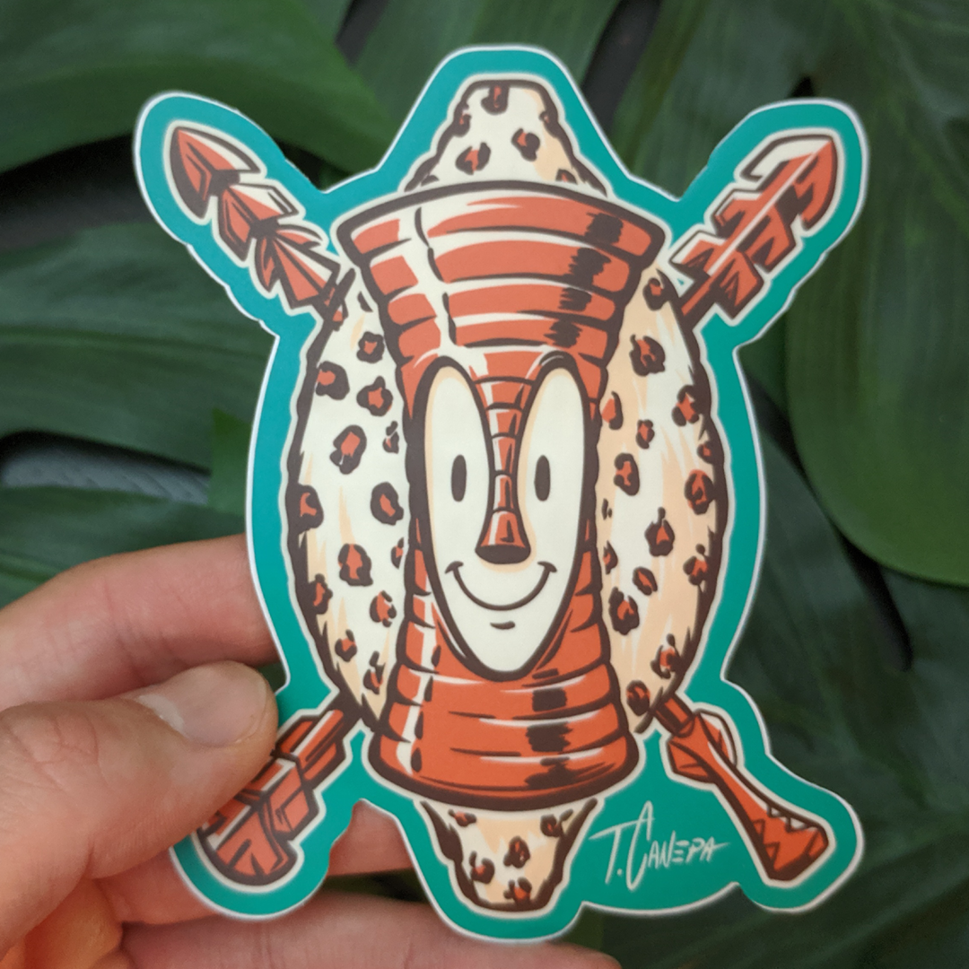 Image of Tiki Bob Goes Native Sticker