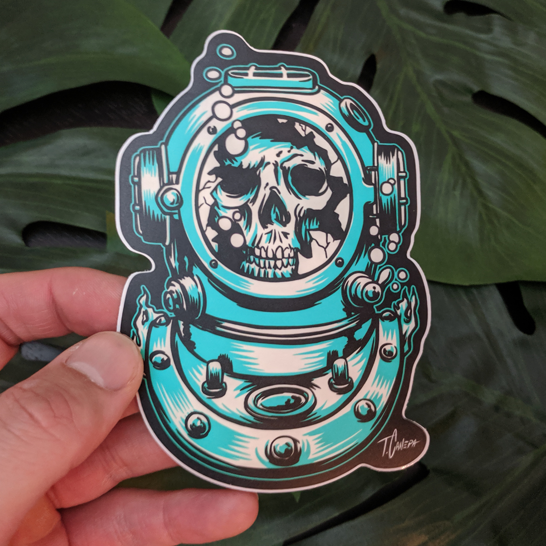 Image of Lost Diver Sticker