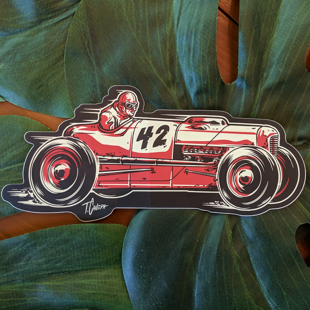 Image of Dry Lake Racer Sticker