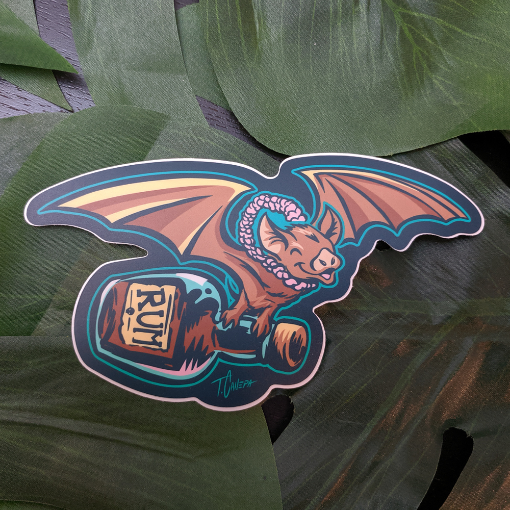 Image of Rum Bat Sticker