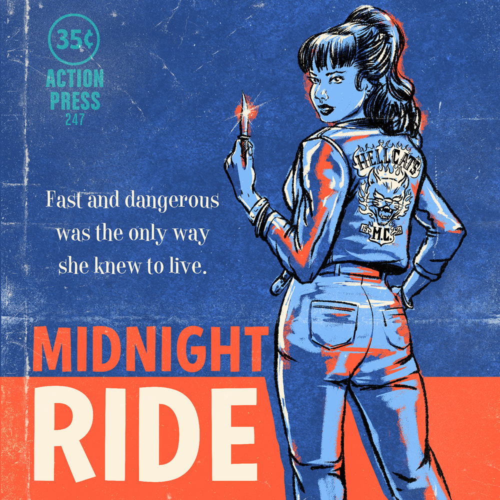 "Image of ""Midnight Ride""<br>Limited Edition Giclee Print"