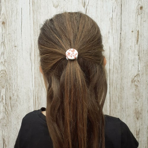 Image of Button Hair Ties - Floral Collection