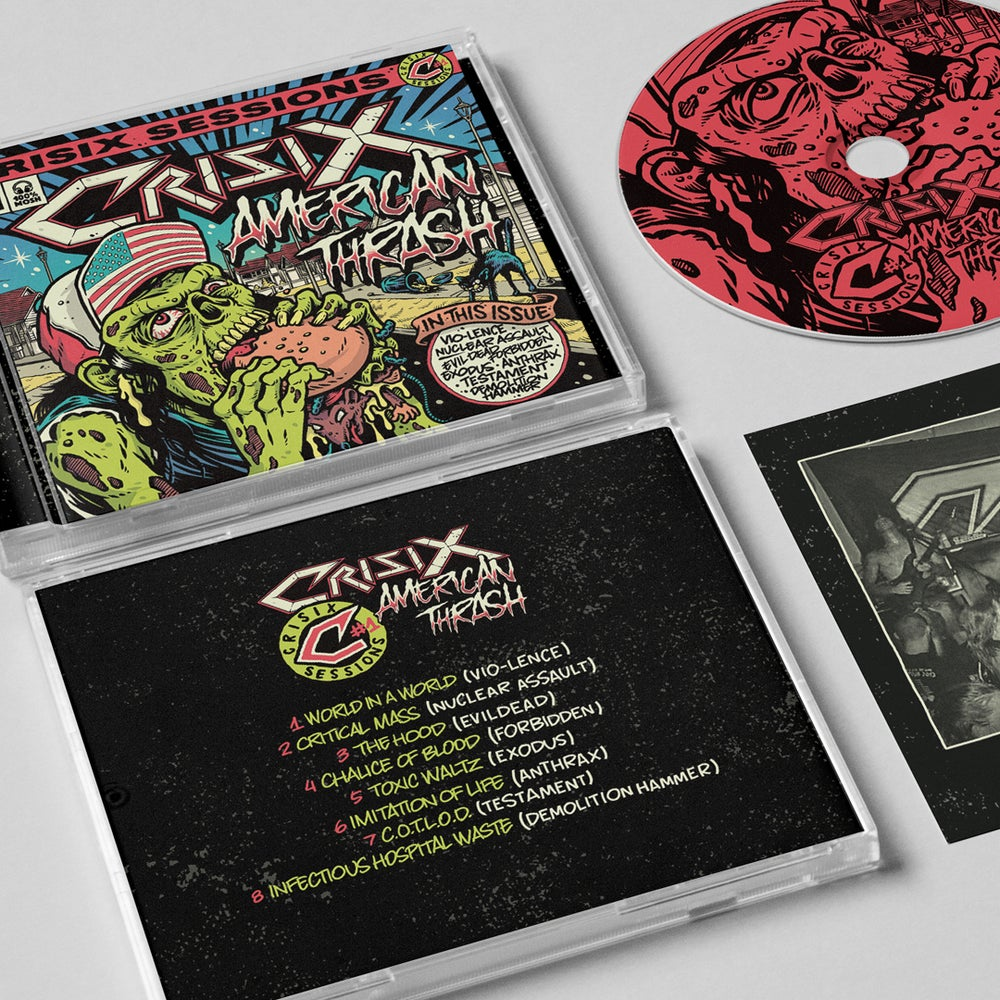 Image of 'American Thrash' CD Jewelcase