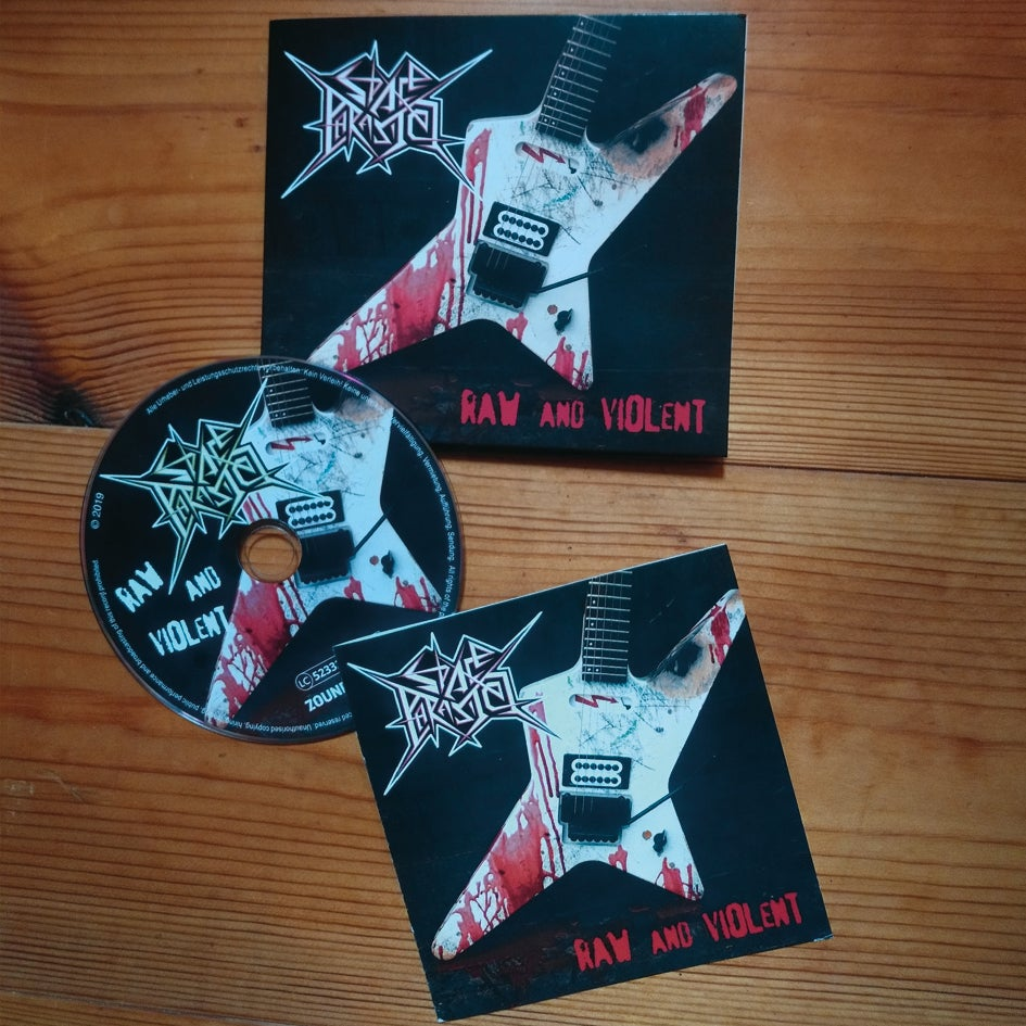 """Image of CD """"Raw and Violent"""""""