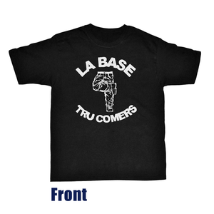 "Image of La Base & Tru Comers Classic Tee LIMITED ""JAZZ"" Edition (BLACK)"