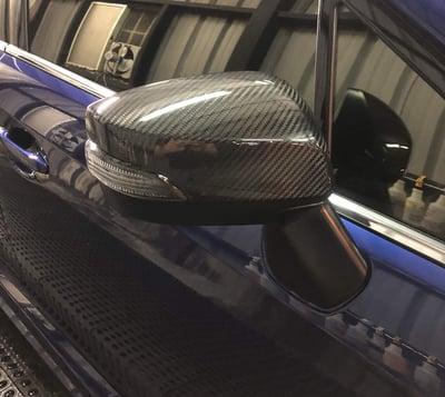 Image of WRX/STI Carbon Mirror Covers