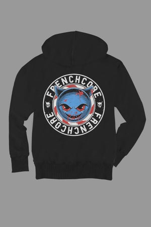 Image of Frenchcore Demoji - Zip Hoodie