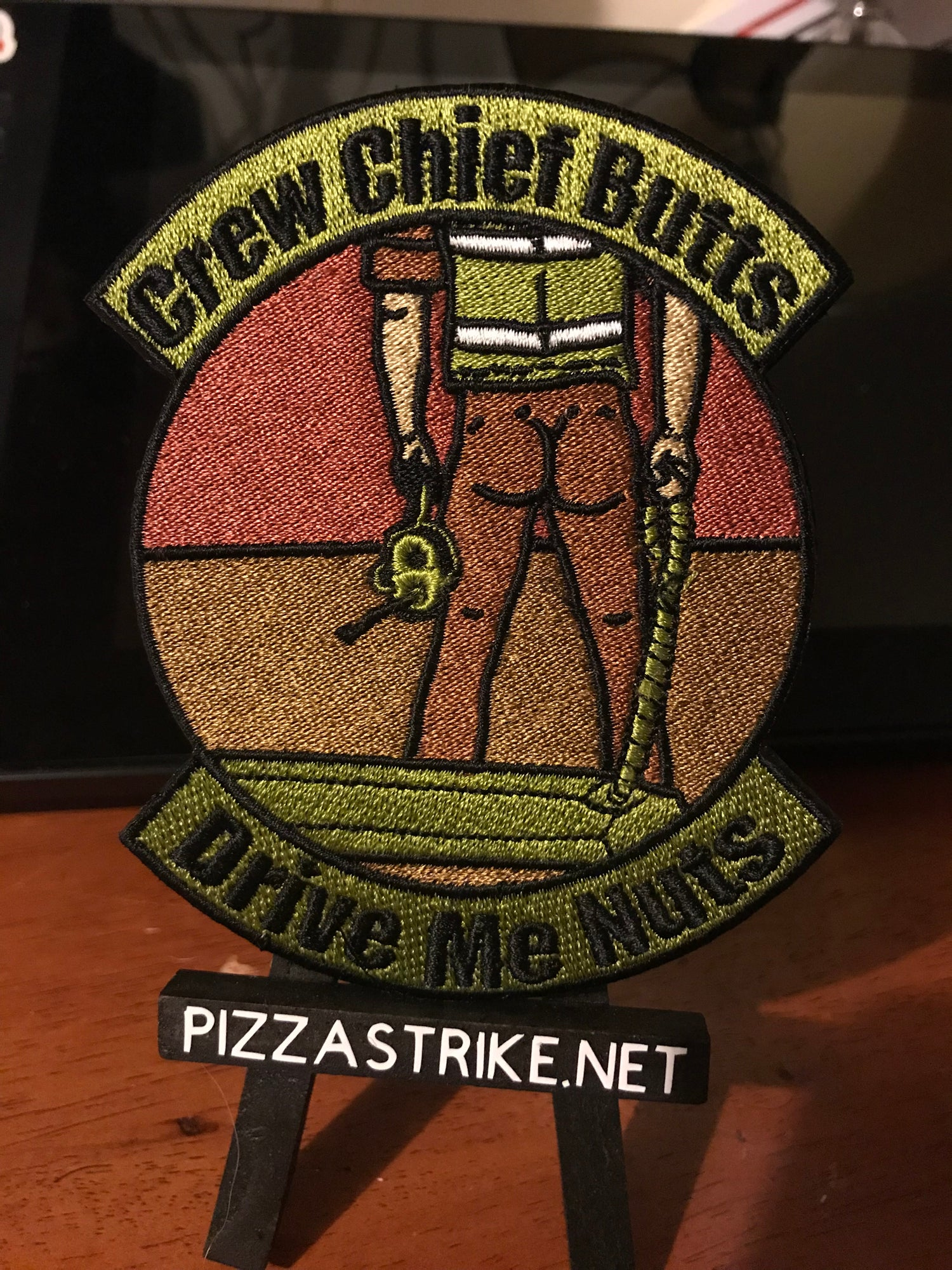Image of Crew Chief Butts Patch