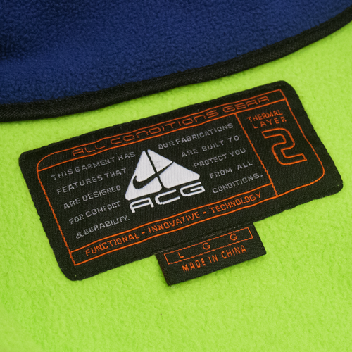 Image of Nike ACG Vest Fleece Fluo Terma Fit Size L