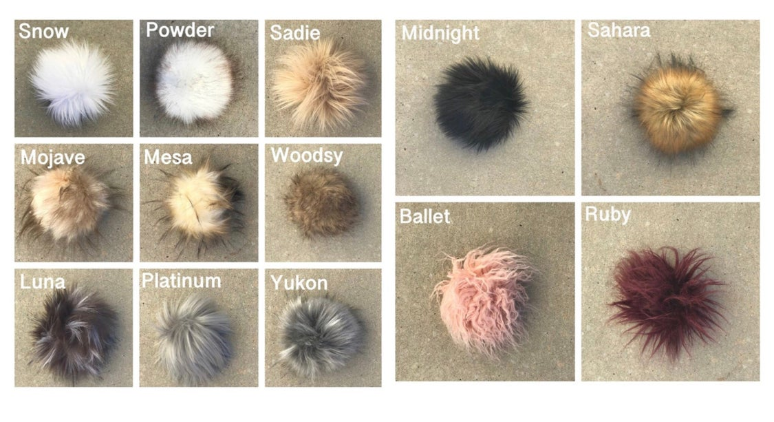 Image of Fall 2019 Pom Beanies