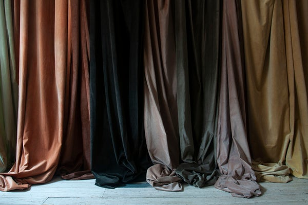Image of fabric lengths - inspiration